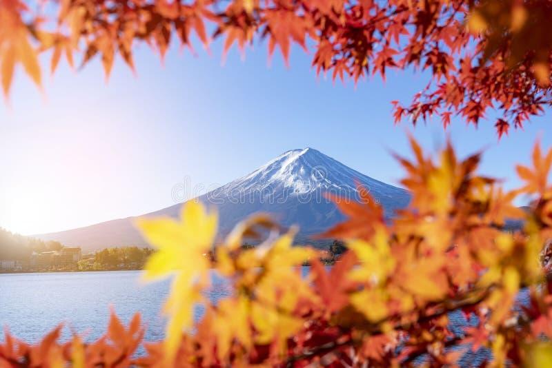Vue de paysage de Mt Fuji chez le Japon image libre de droits