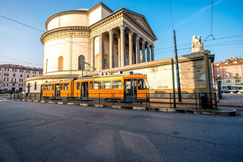 Vue de paysage urbain de Turin image libre de droits