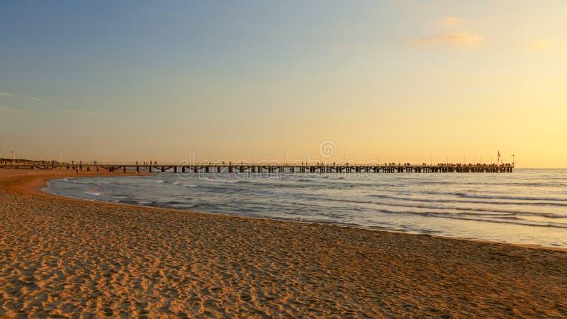 Vue de pilier de marmi de dei de forte sur le coucher du soleil photographie stock libre de droits