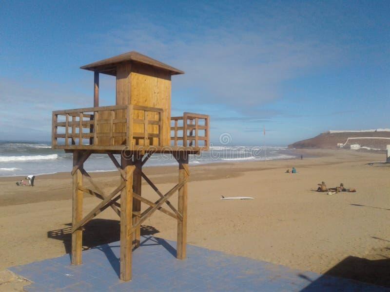 Vue de plage images libres de droits