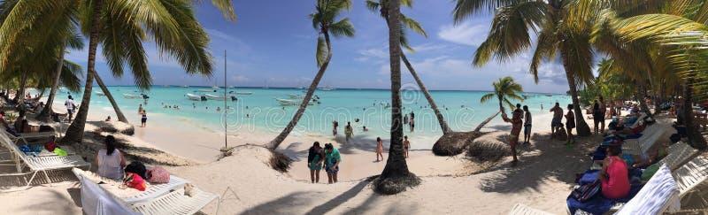 Vue de plage photos stock
