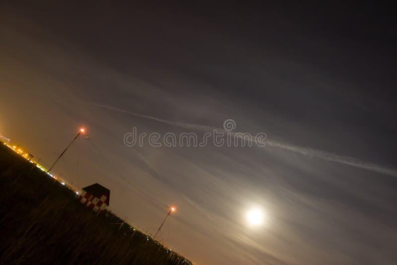 Vue de pleine lune images stock