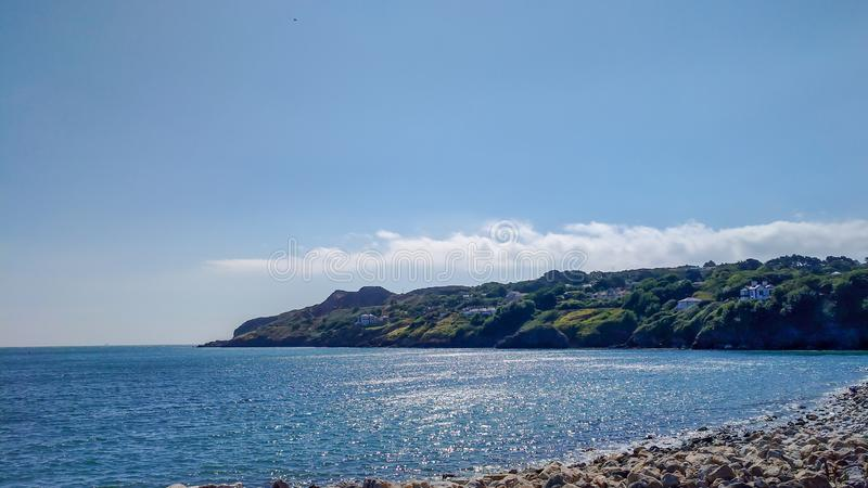 Vue de port de Howth, voyage de sortie de jour de Dublin Ireland Summer photo libre de droits