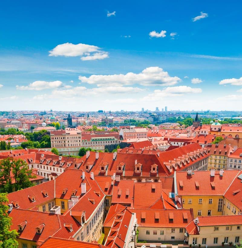 Vue de Prague photographie stock libre de droits