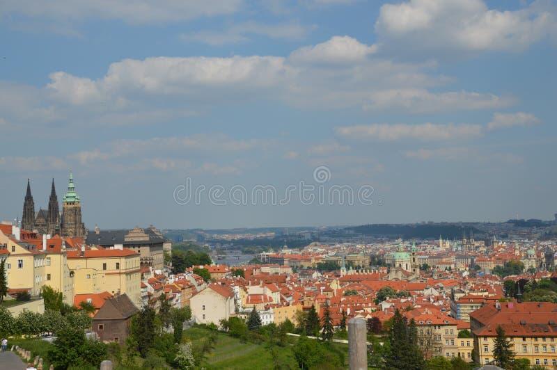 Vue de Prague photographie stock