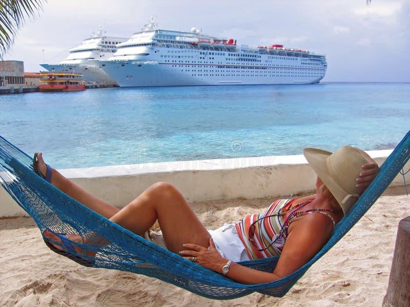 Vue de relaxation photographie stock