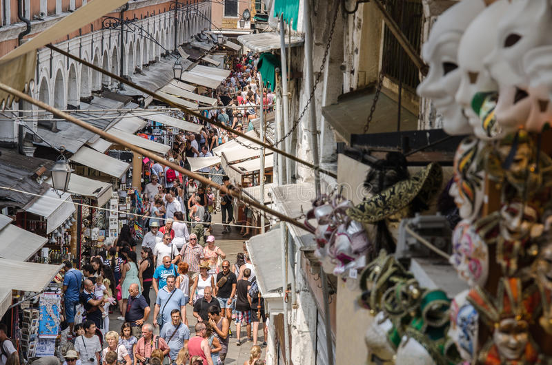 Vue de Rialto, Venise photos stock