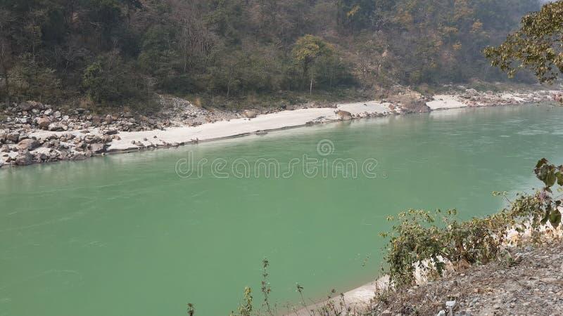 Vue de rivière images libres de droits