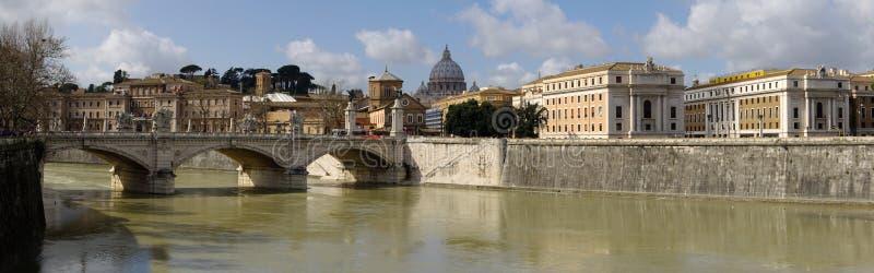 Vue de Rome, Italie. photographie stock libre de droits