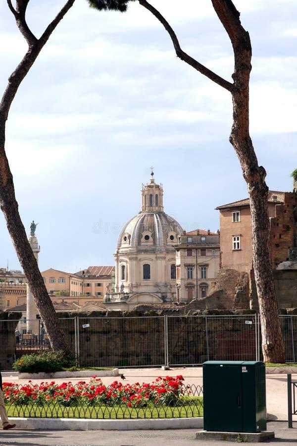 Vue de Rome Italie photographie stock libre de droits
