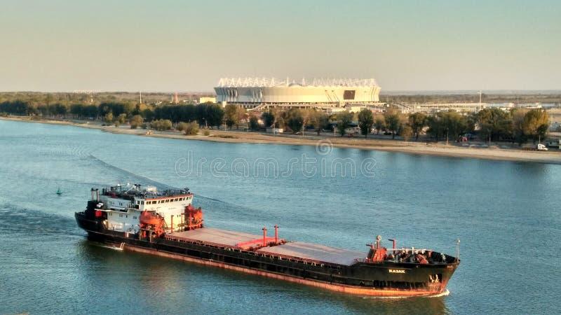 Vue de Rostov-On-Don photographie stock libre de droits