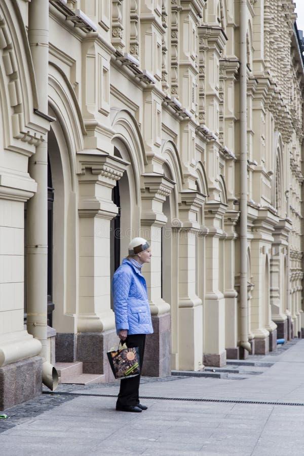 Vue de rue à Moscou photographie stock