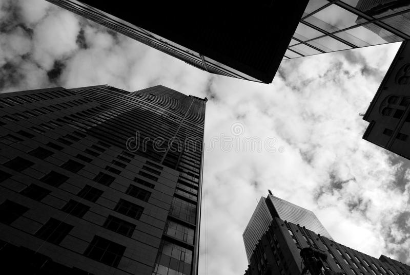 Vue de rue, centre-ville, Toronto, Ontario, Canada photo stock