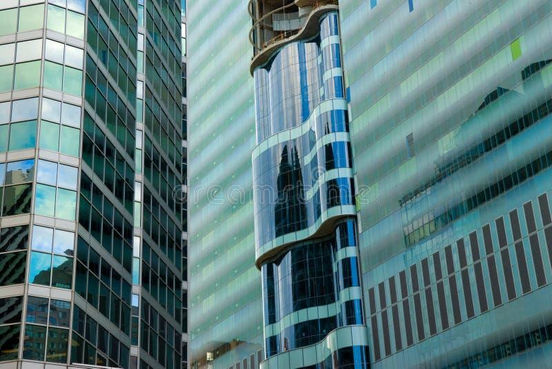 Vue de rue, centre-ville, Toronto, Ontario, Canada photographie stock