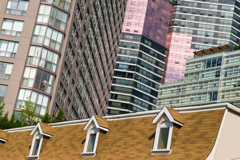 Vue de rue, centre-ville, Toronto, Ontario, Canada images libres de droits