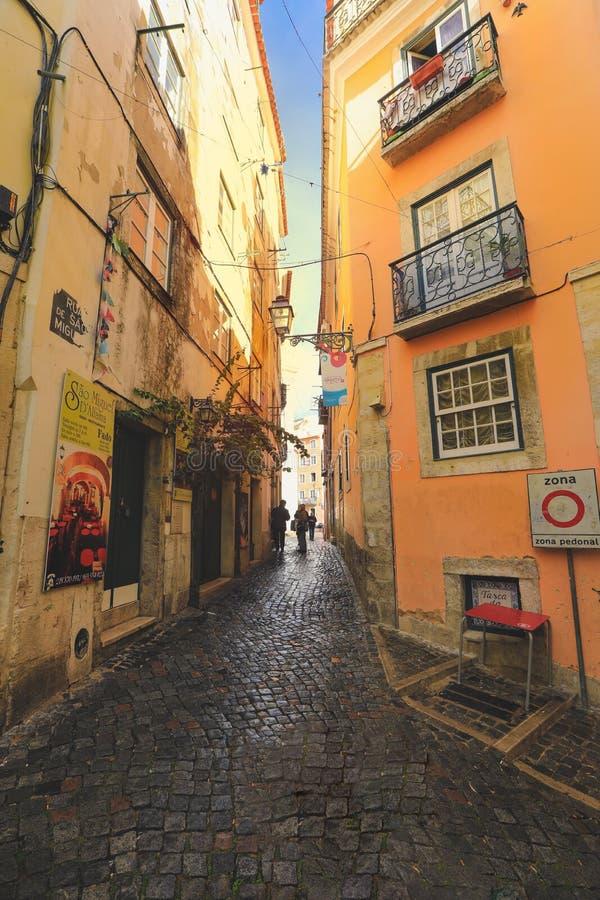 Vue de rue dans la ville de Séville photos stock
