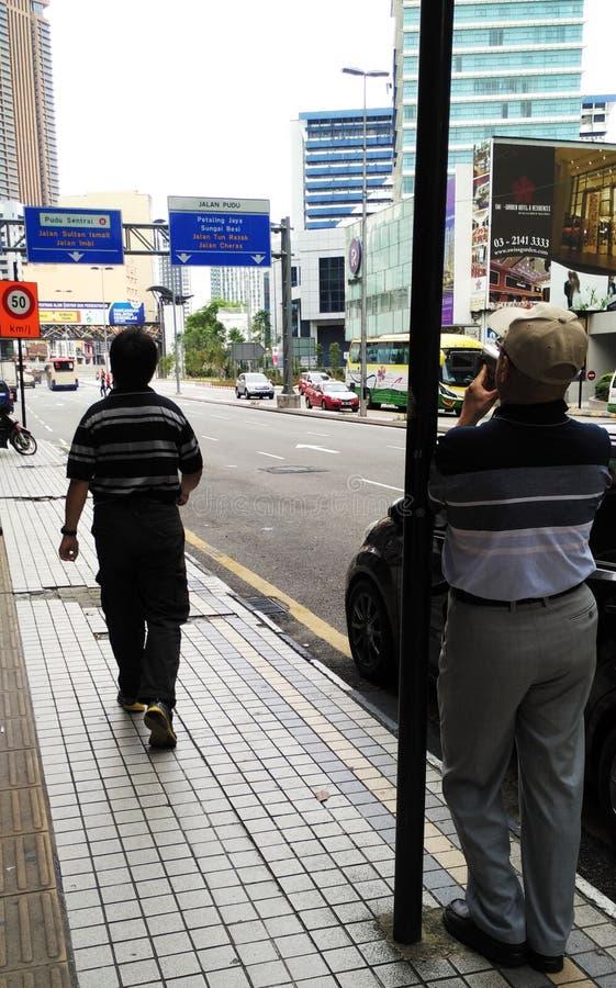 Vue de rue dans le kilolitre photo stock