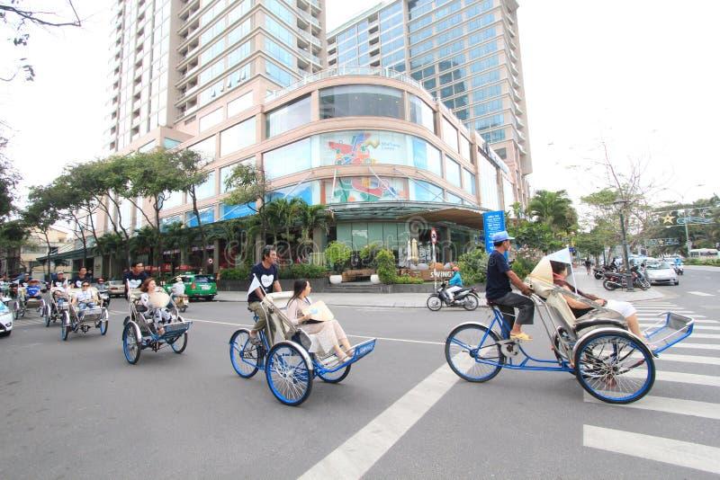 Vue de rue de Nha Trang images stock