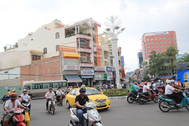 Vue de rue de Nha Trang image stock