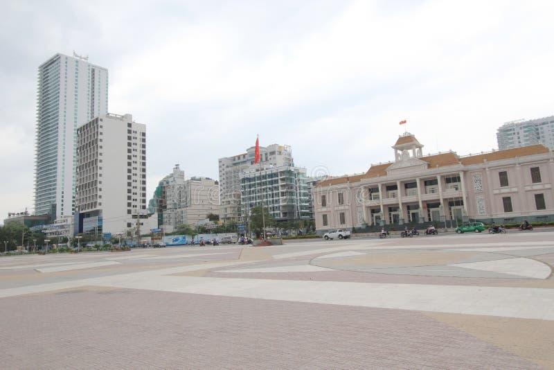 Vue de rue de Nha Trang photo libre de droits