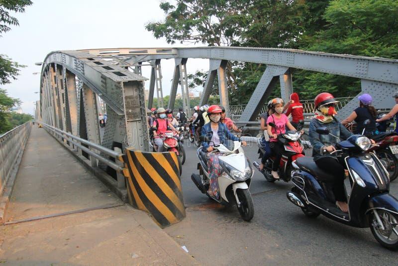 Vue de rue de Nha Trang photographie stock libre de droits