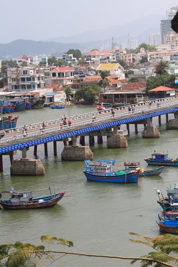 Vue de rue de Nha Trang photos stock