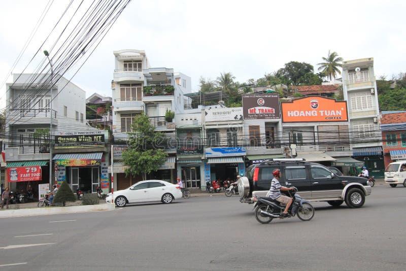 Vue de rue de Nha Trang image libre de droits