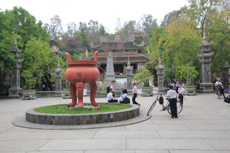 Vue de rue de Nha Trang photos libres de droits