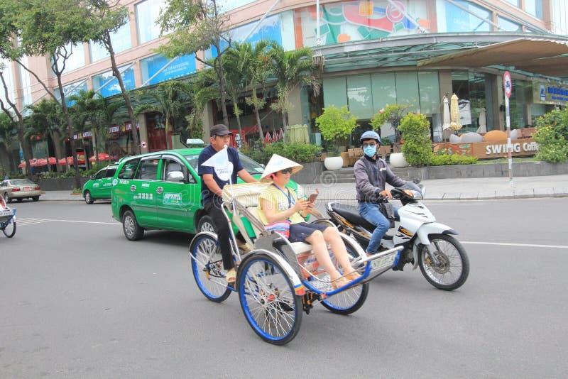 Vue de rue de Nha Trang images libres de droits