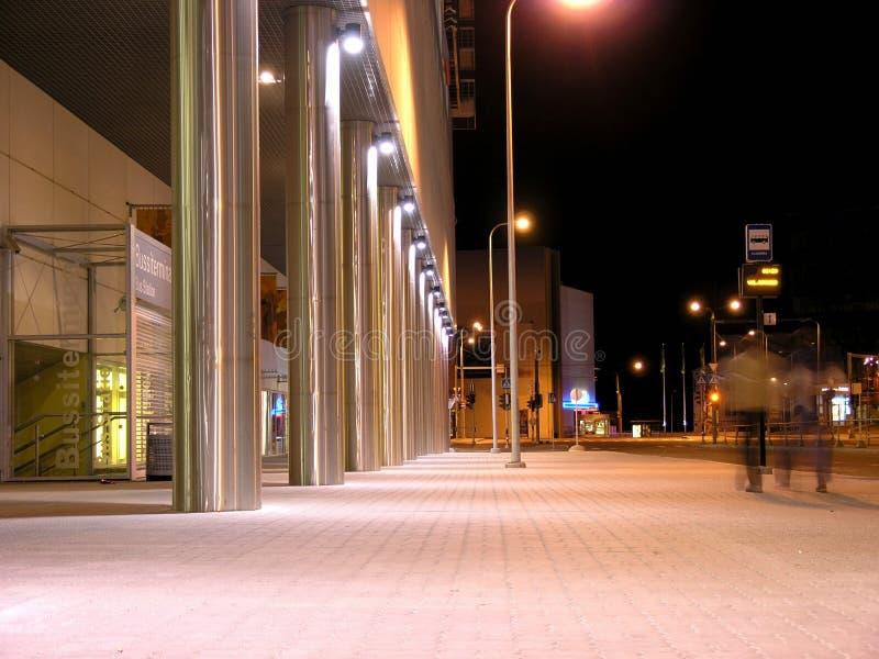 Vue de rue de nuit image libre de droits