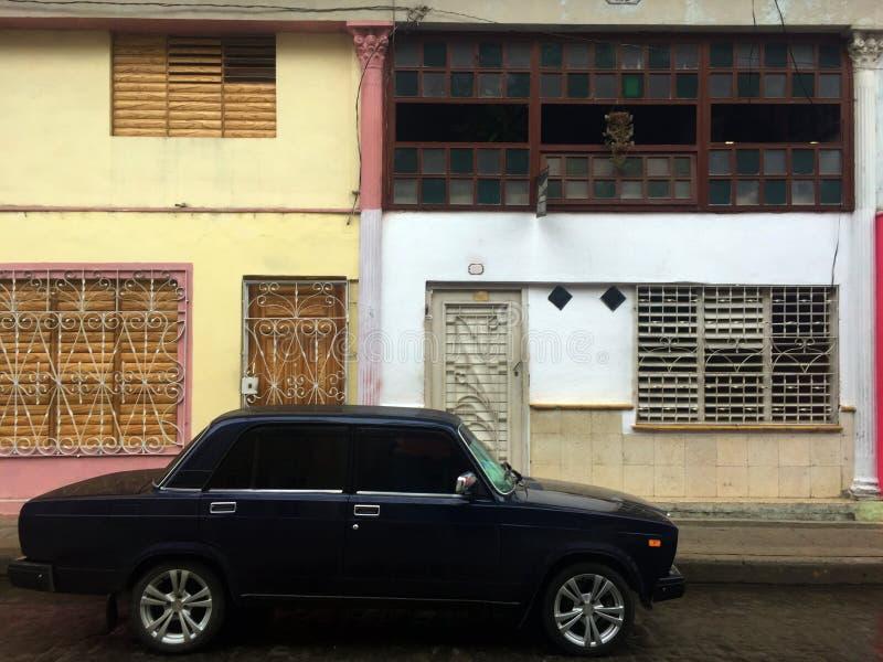 Vue de rue de Santa Clara, Cuba image libre de droits