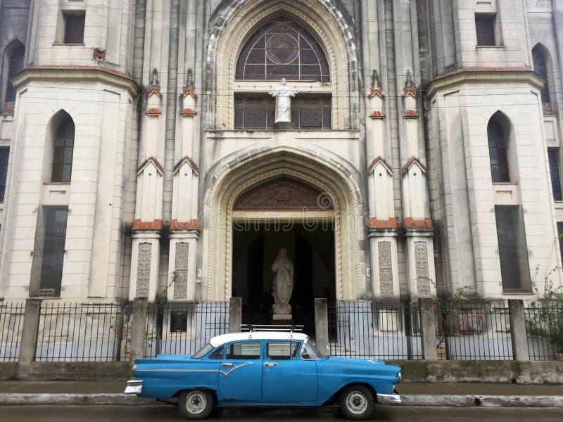 Vue de rue de Santa Clara, Cuba photographie stock