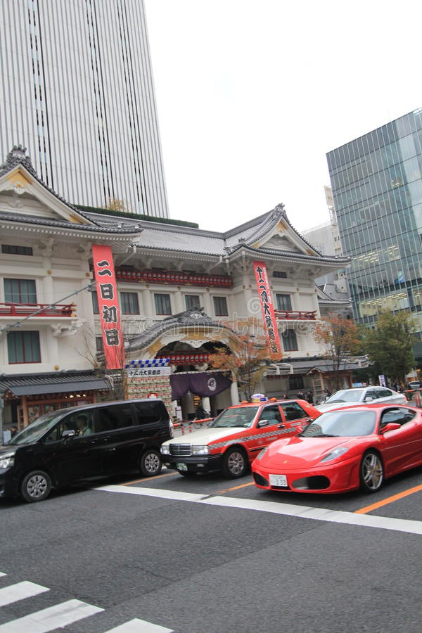 Vue de rue de Tokyo au Japon photo libre de droits