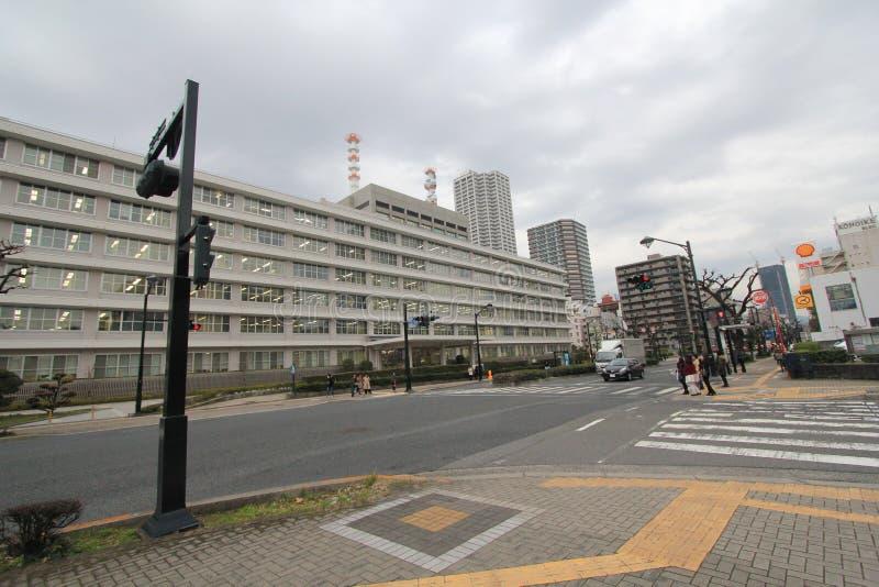 Vue de rue du Japon Hiroshima image libre de droits