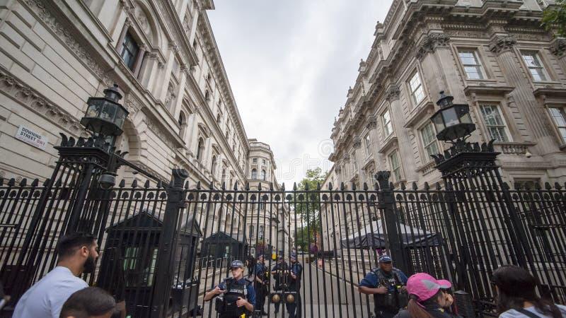 Vue de rue de Londres images libres de droits