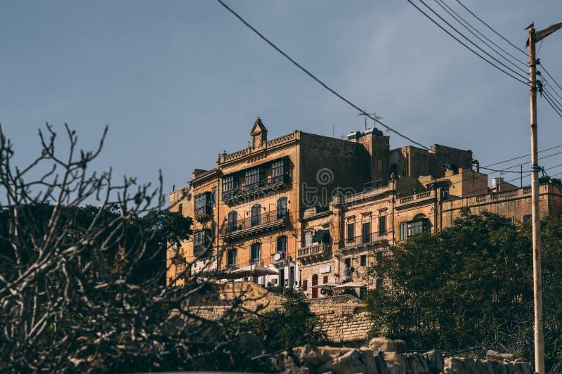 Vue de rue ? Rabat, Malte images libres de droits