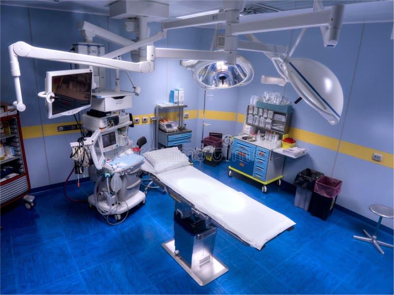 Vue de salle d'opération de ci-avant images libres de droits