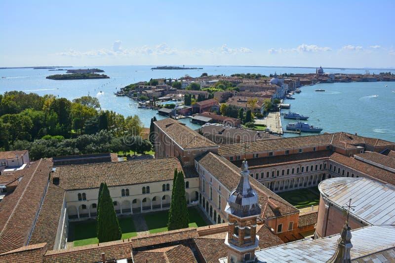 Vue de San Giorgio Maggiore image stock