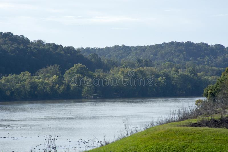 Vue de Scnic, la rivière Ohio photo stock