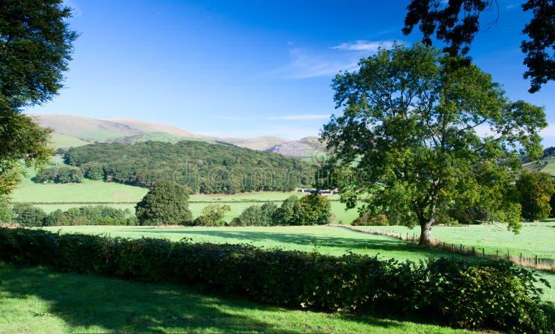 Vue de Snowdonian de support Tarrenhendre au Pays de Galles photo stock