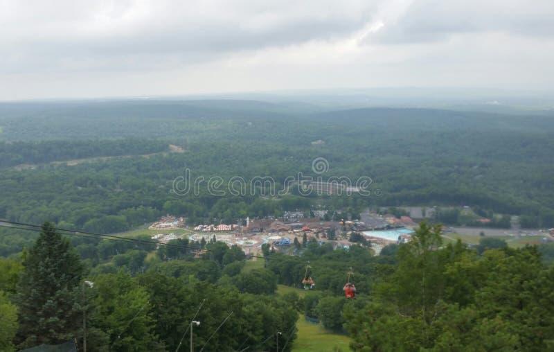 Vue de sommet de montagne photos libres de droits