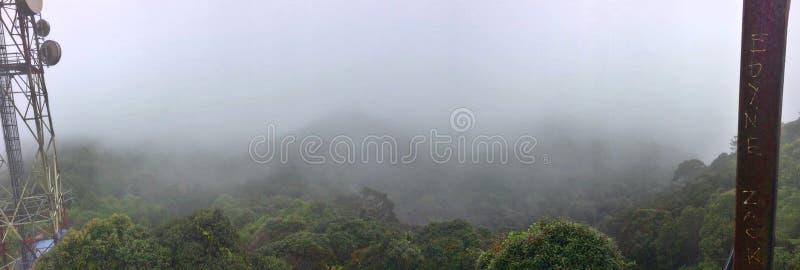 Vue de sommet - Gunung Brinchang images libres de droits