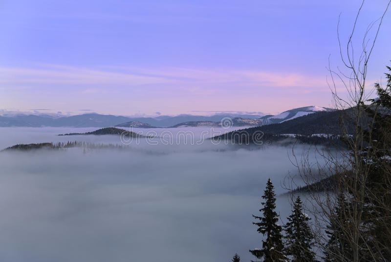 Vue de Spokane de support photo libre de droits