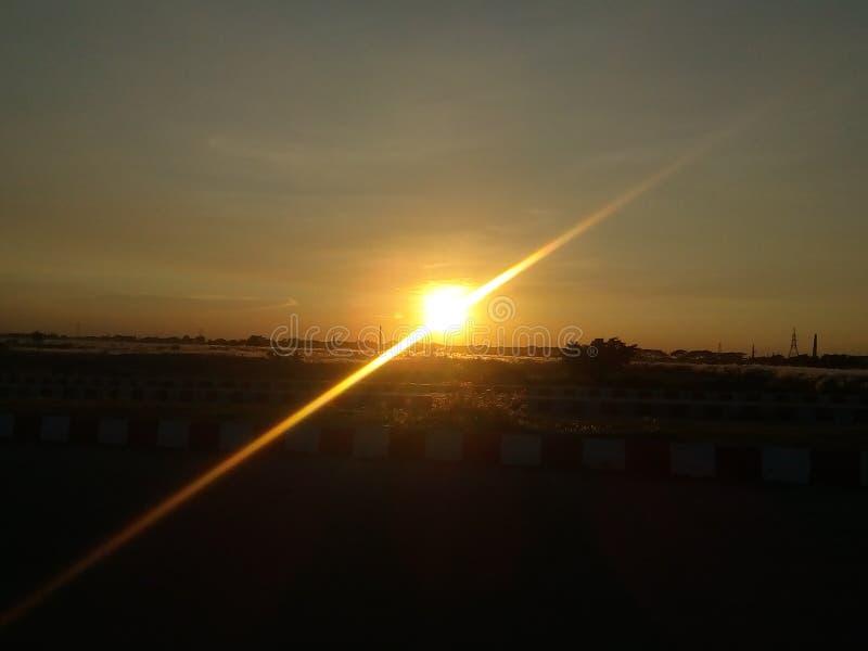 Vue de Sun image libre de droits
