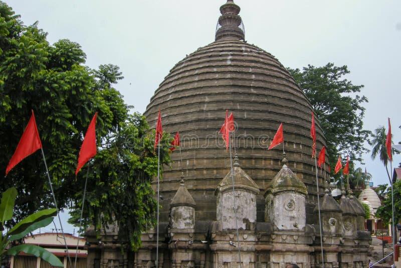 Vue de temple de Kamakhya, Guwahati, Assam photo libre de droits