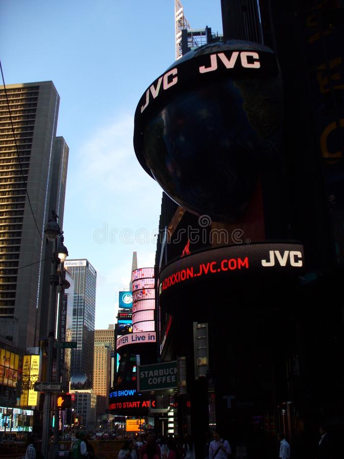 Vue de Times Square aux Etats-Unis photographie stock libre de droits