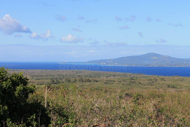 Vue de Tinian du lasso 2 de bâti photographie stock libre de droits