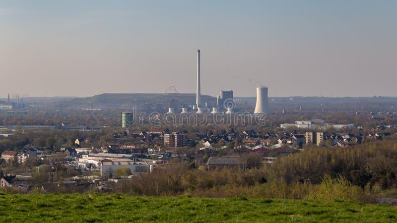 Vue de Tippelsberg, Bochum, Allemagne images stock