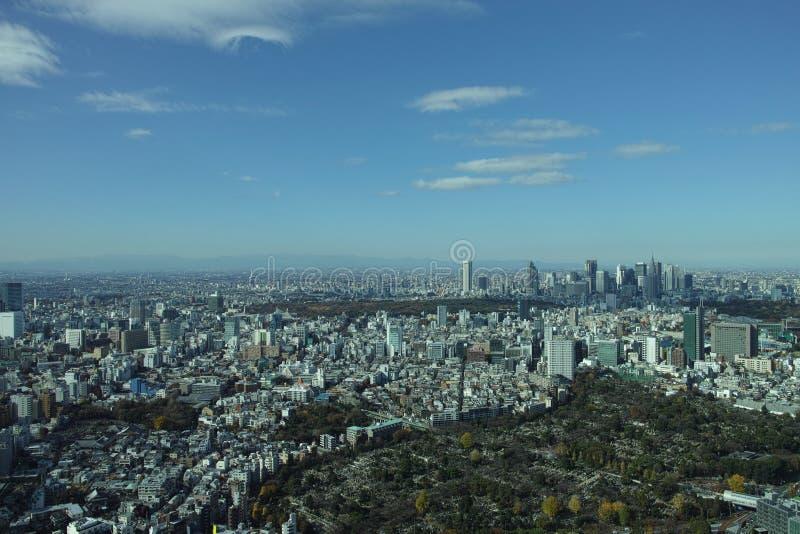 Vue de Tokyo photos libres de droits