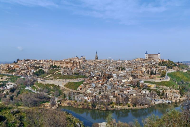 Vue de Toledo, Espagne photos libres de droits